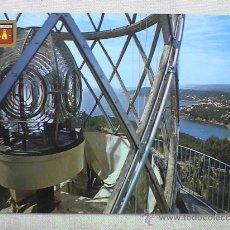 Postales: LINTERNA DEL FARO DE SANT SEBASTIA (PALAFRUGELL) CON LLAFRANCH Y CALELLA AL FONDO. Lote 15046055