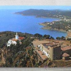Postales: VISTA DEL FARO DE SANT SEBASTIÀ, LA ERMITA-HOSTERIA (PALAFRUGELL) CON LLAFRANCH Y CALELLA AL FONDO . Lote 15046071