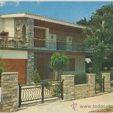 Postales: TARJETA POSTAL DE COMARRUGA CHALET GLORIAS AVENIDA BRISAMAR TARRAGONA. Lote 10078500