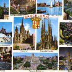 Postales: BARCELONA - DIVERSOS ASPECTOS. Lote 10153440
