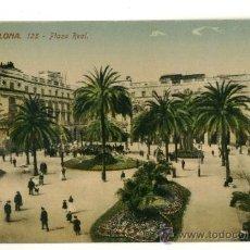 Postales: BARCELONA, PLAZA REAL. Lote 13331342