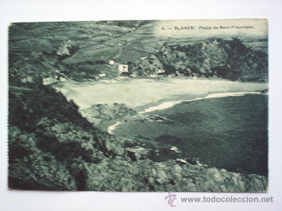 BLANES-PLATJA DE SANT FRANCISCO (Postales - España - Cataluña Antigua (hasta 1939))