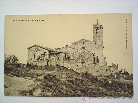 MONTANYA ALTA-PRUIT-ASSOCIACIO PROTECTORA DE LA ENSENYANSA CATALANA (Postales - España - Cataluña Antigua (hasta 1939))