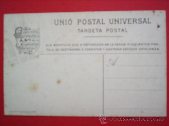 Postales: MONTANYA ALTA-PRUIT-ASSOCIACIO PROTECTORA DE LA ENSENYANSA CATALANA - Foto 2 - 10391620