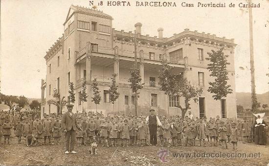 HORTA BARCELONA CASA PROVINCIAL DE CARIDAD (Postales - España - Cataluña Antigua (hasta 1939))