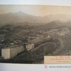 Postales: POSTAL HILARI SACALM: VISTA PANORAMICA MONTSENY. Lote 10691166