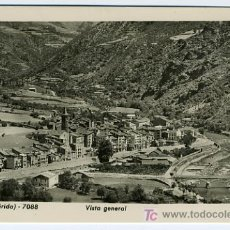 Postales: SORT, LERIDA , VISTA GENERAL , P27350. Lote 10754301