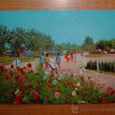 Postales: POSTAL CAMPING LAS DUNAS SAN PEDRO PESCADOR COSTA BRAVA CIRCULADA . Lote 10856153