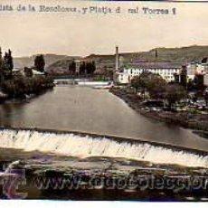 Postales: MUY BUENA POSTAL DE SALLENT -BAGES -VISTA DE LA RESCLOSSA Y PLATJA DE CAL TORRES. Lote 18049286