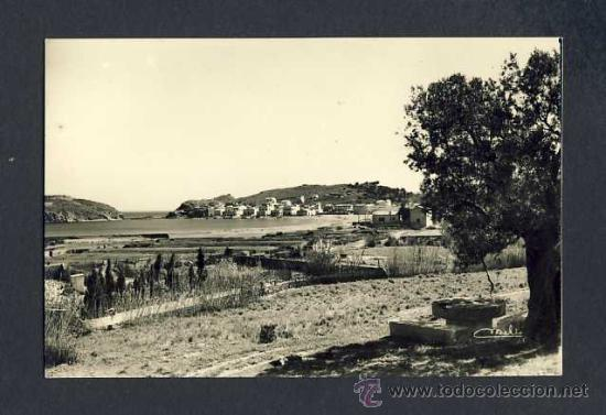 POSTAL DE LLANÇA (GIRONA): VISTA GENERAL DEL PORT (FOTOS MELI NUM.4) (Postales - España - Cataluña Antigua (hasta 1939))
