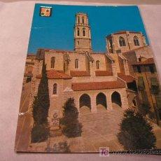 Postales: + FIGUERAS, FIGUERES, IGLESIA DE SAN PEDRO HACIA 1970 SIN USAR. Lote 11269495