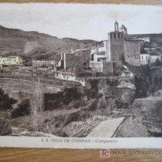 Postales: S. FELIU DE CODINAS. Nº 8 CAMPANARIO. ED. CRISTOBAL NAVARRO. SIN CIRCULAR. Lote 21607296