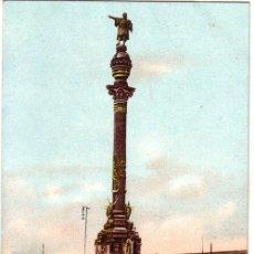 Postales: Nº 766 POSTAL BARCELONA SIN DIVIDIR MONUMENTO A COLON. Lote 26581234