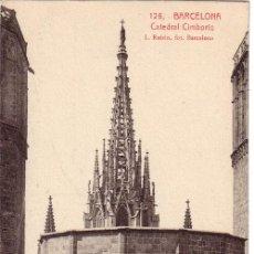 Postales: Nº 609 POSTAL BARCELONA CATEDRAL CIMBORIO. Lote 24969784