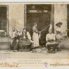 Postales: (PS-9444)POSTAL DE VALLESPIR-ALPARGATEROS-FABRICACION DE ESPARDEÑAS. Lote 11685413