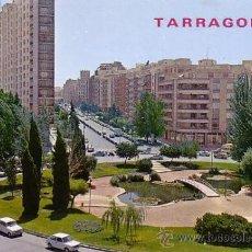 Postales: POSTAL DE TARRAGONA - PLAZA IMPERIAL TARRACO. AL FONDO AVDA. CONDE VALLELLANO. Lote 11751282
