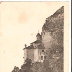 Postales: POSTAL DE MONTSERRAT. LA SANTA COVA DE LA VERGE. Lote 19214052
