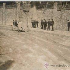 Postales: (PS-9508)POSTAL FOTOGRAFICA DE BARCELONA-CARRETERA DE LA RABASSADA-CARRERA. Lote 11765564
