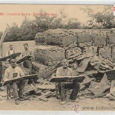 Postales: (PS-9480)POSTAL DE SANT FELIU DE GUIXOLS-INDUSTRIA SURERA-TRIADORS DE SURO. Lote 11766110