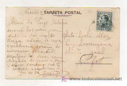 Postales: POSTAL ILUSTRADA CATALANISTA. MONTSERRAT. LA SARDANA. - Foto 2 - 11760540