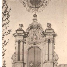 Postales: POSTAL 5 - LA GLEVA , PORTADA DEL SANTUARI . Lote 24657565