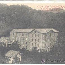 Postales: ATV SANT HILARI SACALM HOTEL MARTIN ESTABLIMENT. Lote 22550235