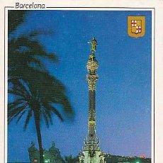 Postales: BARCELONA, MONUMENTO A COLÓN. Lote 11869586