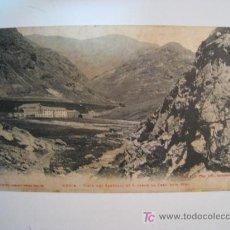 Postales: POSTAL NURIA: VISTA SANTUARI DESDE CREU DEN RIBA (1). Lote 11928085