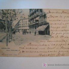Postales: POSTAL BARCELONA: CALLE FONTANELLA (HAUSER). Lote 11990985