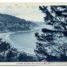 Postkarten - LLORET DE MAR, GERONA, COSTA BRAVA, PLAYA DE SANTA CRISTINA, P25585 - 12035207