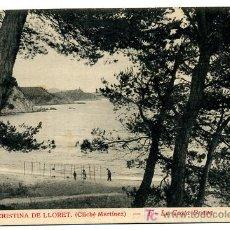 Postales: SANTA CRISTINA DE LLORET, GERONA, LA COSTA BRAVA, P25587. Lote 12035238