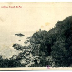 Postales: LLORET DE MAR, GERONA, COSTA BRAVA. VISTAS DE SANTA CRISTINA, P25591. Lote 12035284