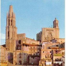 Postales: Nº 3778 POSTAL GERONA SAN NARCISO Y LA CATEDRAL. Lote 12074693