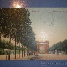 Postales: TARJETA POSTAL BARCELONA - PARQUE , PASEO DE SAN JUAN - SELLO AÑO 1909. Lote 23214605