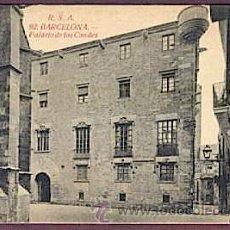 Postales: CATALUNYA - POSTAL BARCELONA -SENSE CIRCULAR. Lote 25743269