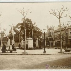 Postales: (PS-10629)POSTAL FOTOGRAFICA DE BARCELONA-SARRIA-PLAZA DE GASPAR Y FERRERAS. Lote 12673410
