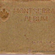 Postales: BLOCK 69 VISTAS MONTSERRAT ALBUM. Lote 12706483