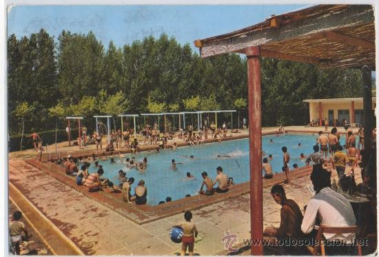 Tarjeta postal de piera piscina municipal barce comprar for Piscina de piera