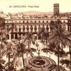 Postales: BARCELONA . PLAZA REAL. Lote 18787786