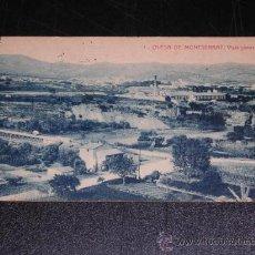 Postales: 1 OLESA DE MONTSERRAT - VISTA GENERAL. Lote 12801963