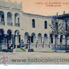 Postales: MUY BUENA POSTAL DE LA FAMOSA FABRICA VICHY CATALAN- EN CALDAS DE MALAVELLA-ENTRADA GENERAL. Lote 12870494
