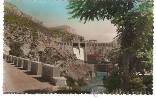 POSTAL DE OLIANA, Nº 50 PANTANO, FOTO JANOT , VER FOTO ADICIONAL (Postales - España - Cataluña Antigua (hasta 1939))