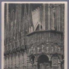 Postales: TARJETA POSTAL ANTIGUA DE BARCELONA. CATEDRAL -INTERIOR, PÚLPITO.. Lote 13066394