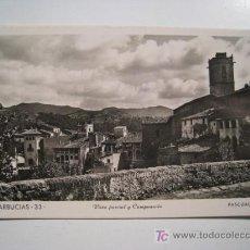Postales: POSTAL ARBUCIAS: VISTA PARCIAL Y CAMPANARIO (PASCUAL). Lote 13158090