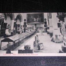 Postales: 11 TORTOSA , NAVE CENTRAL DEL MUSEO MUNICIPAL , THOMAS. Lote 13194229