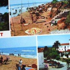 Postales: CUNIT: TARRAGONA. DIVERSOS ASPECTOS DE LA VILLA. FOTO COLOR RAYMOND Nº 6. CIRCULADA. AÑOS 70. Lote 274279698
