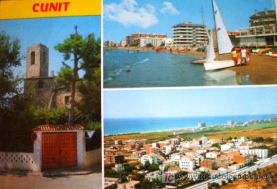 CUNIT: TARRAGONA. DIVERSOS ASPECTOS DE LA VILLA. RAYMOND Nº 12. AÑOS 70 (Postales - España - Cataluña Moderna (desde 1940))