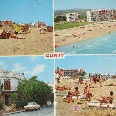 Postales: CUNIT: TARRAGONA. DIVERSOS ASPECTOS DE LA VILLA. RAYMOND Nº 8. AÑOS 70. Lote 274279818