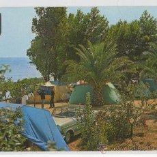 Postales: TARJETA POSTAL DE ALCANAR PLAYA CAMPING LOS ALFAQUES COSTA DORADA TARRAGONA. Lote 13324755