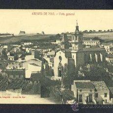 Postales: POSTAL D' ARENYS DE MAR (BARCELONA): VISTA GENERAL (ED.CAIETÀ SOLÀ). Lote 13517900